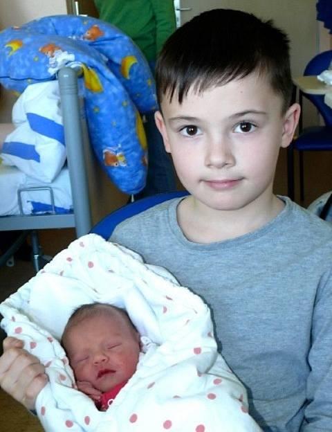 Tereza Jindrová z Dolního Bukovska se narodila 11. března v 0.20 hodin  s váhou 2,47 kg a mírou 48 cm. Má osmiletého brášku Tomáše.