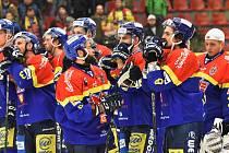 Zklamaní hokejisté ČEZ Motoru