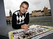 Petr Gřegořek přivezl do Českých Budějovic zlatou medaili.