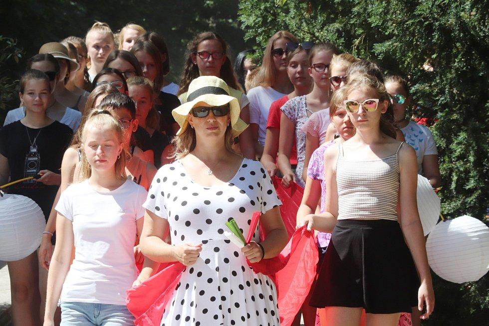 Opera Turandot na českokrumlovském otáčivém hledišti