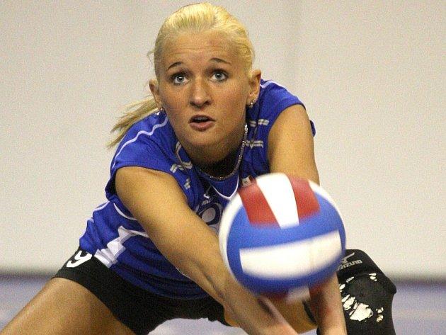 Získá letos nadějná volejbalistka z jihu Čech Julie Jášová s Brnem titul?