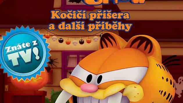 Kocour Garfield se těší na nové čtenáře.