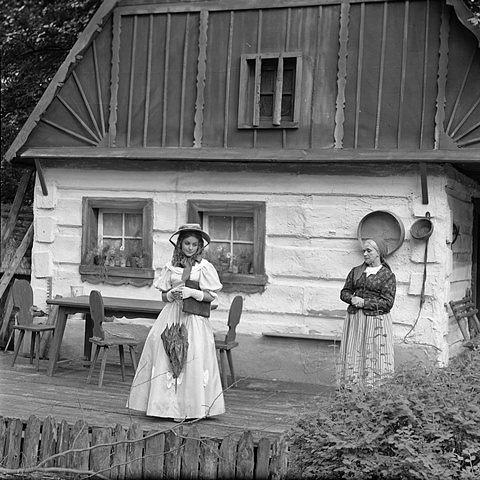 V inscenaci Babička v roce 1969 s Růženou Novákovou.