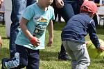 V sobotu se u Vrbenských rybníků v Českých Budějovicích konal dětský den.