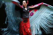 ŽHAVÉ A ENRGICKÉ. Manuela Reyes (na snímku) zatančí ve čtvrtek a v pátek v Českých Budějovicích pravé andaluské flamenco.