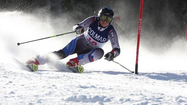 Zuzana Matoušová z SK Maty v St.Katarině v Itálii vyjela dvě bronzové příčky v obřím slalomu ve FIS – CIT (městských závodech SP).