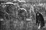 Národní muzeum fotografie v Jindřichově Hradci slaví 10 let a otevřelo 10 výstav, které potrvají do 30. září. Snímek Brankář a voda od Stanislava Tereby, který za něj v roce 1959 získal první cenu ve World Press Photo. Vyfotil sparťanského brankáře Mirosl