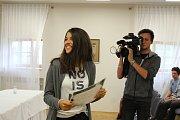 Plno informací a dojmů z první TalentAkademie v Českých Budějovicích si v neděli odváželo domů, do celého kraje, 26 studentů.