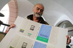 Spisovatel Milan Koželuh.