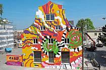 Další dům milovníka barev - v Mnichově.