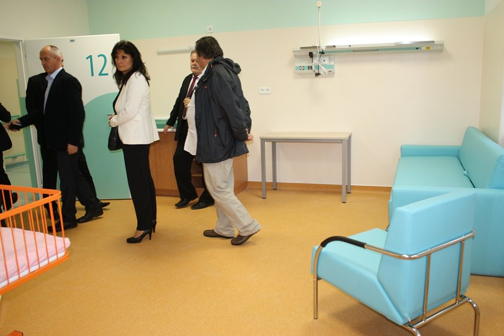 V pondělí 12. října začne matkám a novorozencům v areálu českobudějovické nemocnice sloužit nový objekt perinatologie.