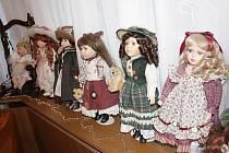Kdo by chtěl panenky vidět, má možnost každou neděli od 14 do 17 hodin.
