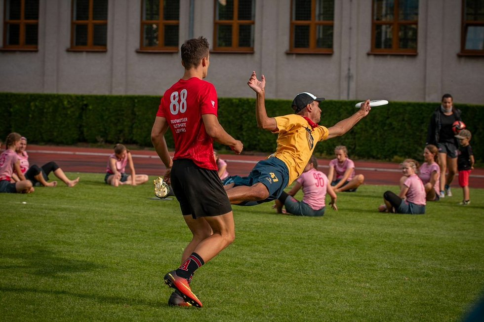 Budějovický klub Sokol 3SB je mistrem České republiky ve frisbee