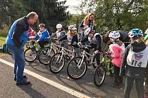 Dopravní soutěž mladých cyklistů.