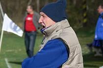 Trenér Ladislav Klimeš odstartuje zimní přípravu týmu FK Borovany 5. ledna.