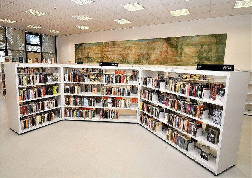 Studijní část Jihočeské vědecké knihovny na Lidické třídě se otevřela pro čtenáře.