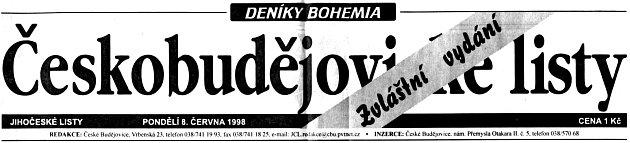 Vpondělí 8.června 1998se dvě vojenské stíhačky srazily vmracích nad Českými Budějovicemi. Jejich trosky dopadly na sídliště Vltava. Arozpoutalo se peklo.