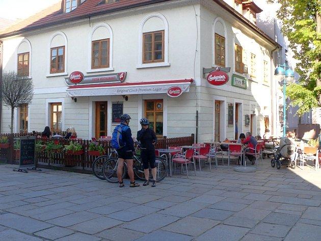 Pizzerie Fresh na Piaristickém náměstí. Ilustrační foto.