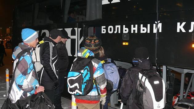 Jihočeši vyrazili na fotbalový turnaj do Ruska