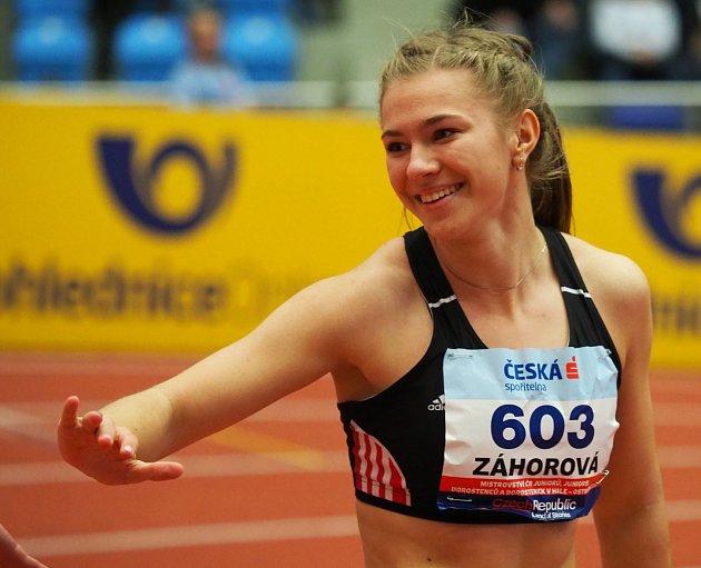 Adéla Záhorová opět nezklamala.