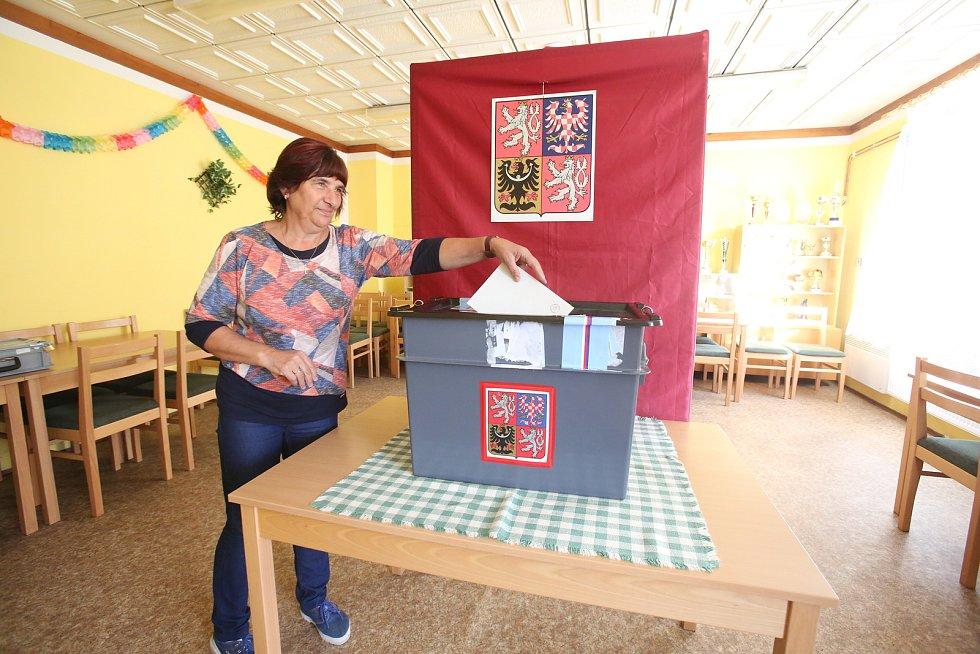 V Čížkrajicích dohlížela na volby komise v tradičním složení. Zasedl v ní i kybernetik, předsedou byl myslivec.