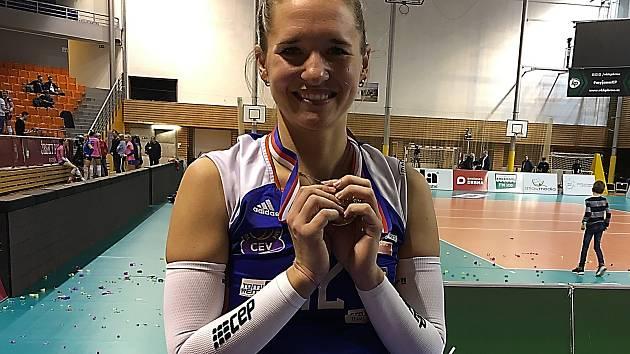 Julie Kovářová je ve finále, na soupeře čeká v Českých Budějovicích.