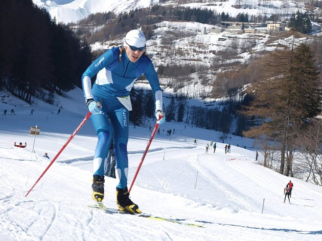 Grabmüllerová  na snímku z  Itálie a Slovenska.