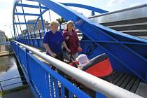 Modrý most u Polikliniky Jih je stále předmětem sporů.