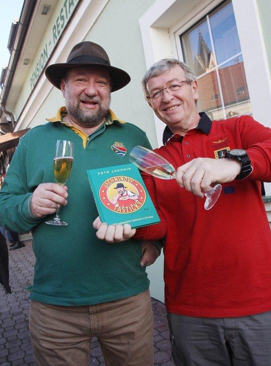 Petr Jachnin (vlevo) a Ladislav Faktor.
