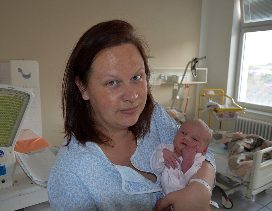 Adriana Fučíková z Písku. Dcera Moniky a Jaroslava Fučíkových se narodila 13. 4. 2021 v 18.30 hodin. Při narození vážila 3500 g a měřila 50 cm. Doma se na ni těšili sourozenci Natálka (7) a Jaroušek (4).