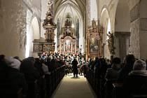 Přijďte na vánoční koncert do kostela