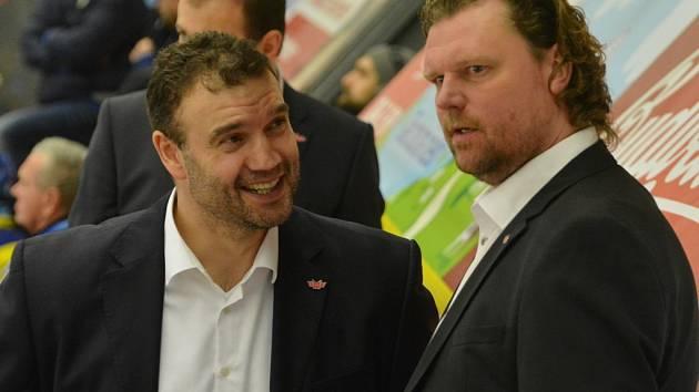 Martin Štrba (vlevo) s Romanem Turkem