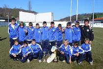 Fotbalisté Dynama České Budějovice kategorie U13