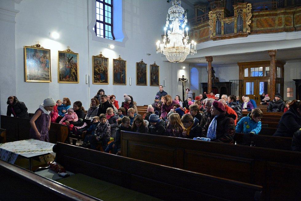 První adventní neděle v Týně nad Vltavou.