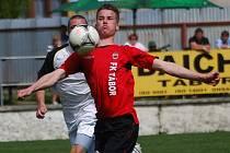 Jindřich Rosůlek půjde do sobotní druholigové derniéry proti Sokolovu v S. Ústí s přáním dát ve druhé lize gól.