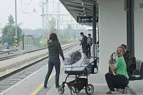 Soběslavští se mohou těšit z nového nádraží, podchodu, ostrovního nástupiště a jednoho vnějšího peronu.