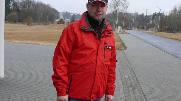KOUČ. Táborským cyklistům šéfuje zkušený trenér Stanislav Bambula.