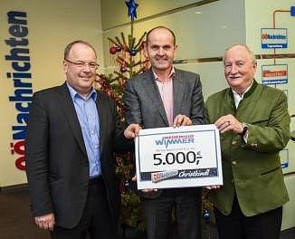 5000 eur od novin pro potřebné děti.