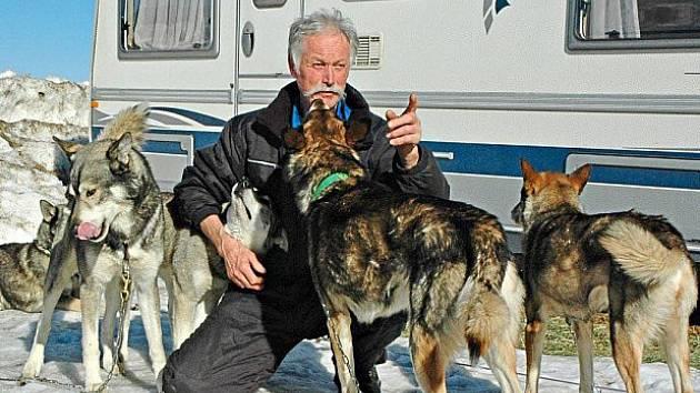 Psi Georga Stocka poběží 18 kilometrů.