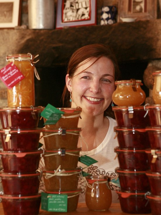 Nejchutnější marmelády světa vaří Blanka Milfaitová v Pohoří na Šumavě.