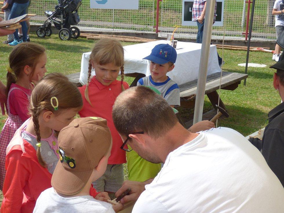 Druhý ročník Dne s voraři se v sobotu konal v Purkarci.