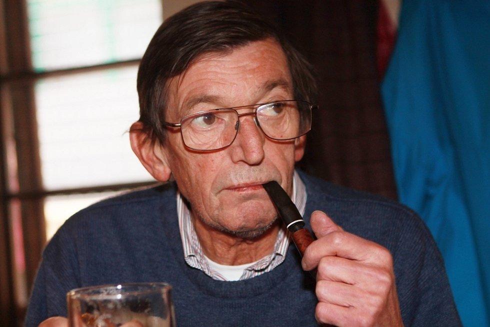 Zdeněk Rubeš, štamgast od roku 1980.