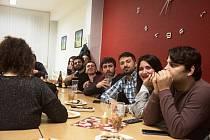 Zahraniční studenti poznávali na VŠTE v Českých Budějovicích vánoční tradice.
