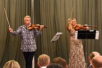 Hudební festival Jihočeské Nové Hrady 2020 nabídl pět celovečerních koncertů a unikátní výstavu slavných italských, francouzských, německých a českých houslí čtyř staletí.