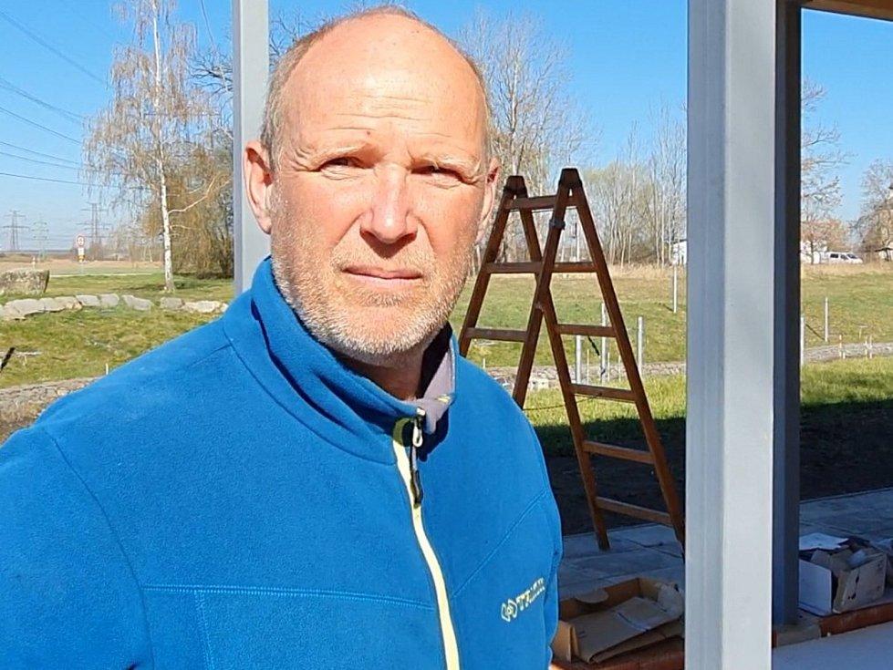 Předseda SK VS Vodní slalom České Budějovice Jakub Prüher vypráví nejen o přestavbě areálu
