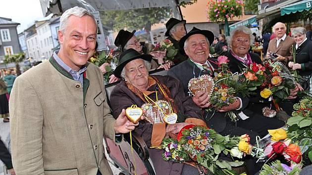 V Bad Ischlu měli pěkný svátek!