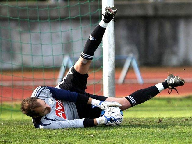 Zdeněk Křížek proti Baníku udržel čisté konto.