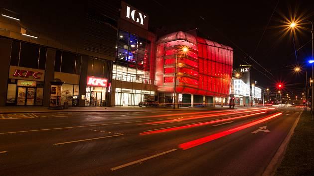 IGY Centrum v Českých Budějovicích. Ilustrační foto.