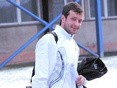 Olomoucký David Kobylík minule se Slavií rozhodl, blízko gólu byl i v nedělním utkání s Dynamem.