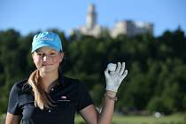 Úspěšná golfistka Gabriela Roberta Vítů.